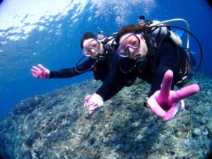 クマノミ体験ダイビング