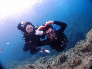 青の洞窟 diving