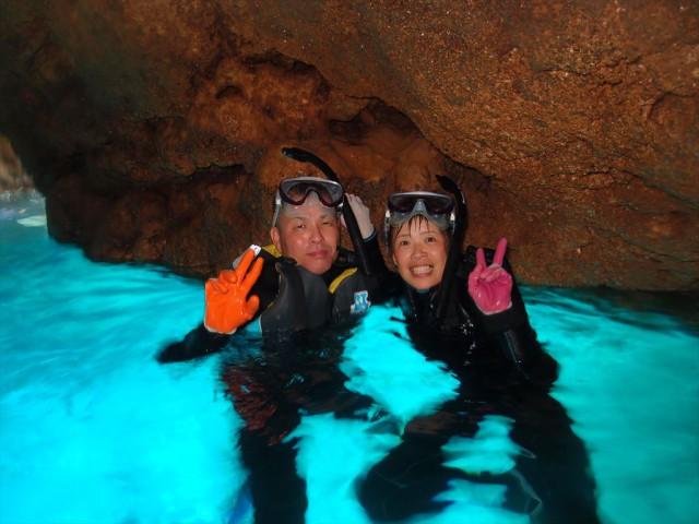 青の洞窟 シュノーケル 口コミ