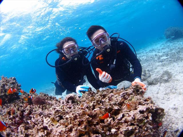 沖縄 ダイビング シュノーケル2017年3月21日のお客様