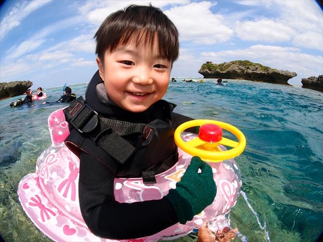 沖縄 個別開催海のツアー 2018年4月8日のお客様
