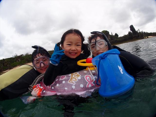 沖縄 家族シュノーケル