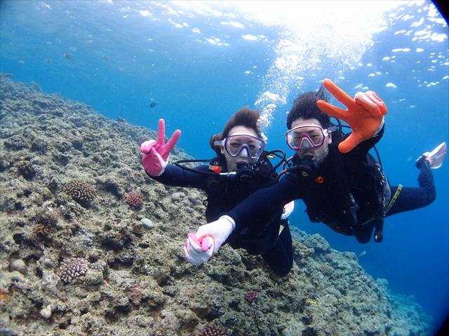 沖縄旅行 ダイビング 写真