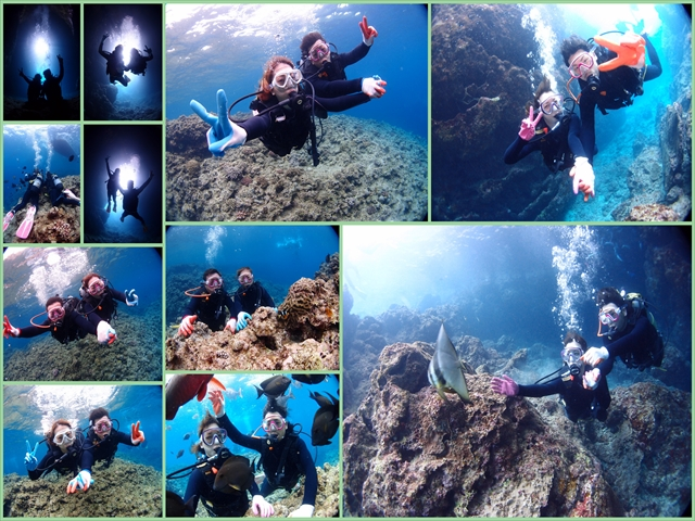 5月の沖縄 ダイビング