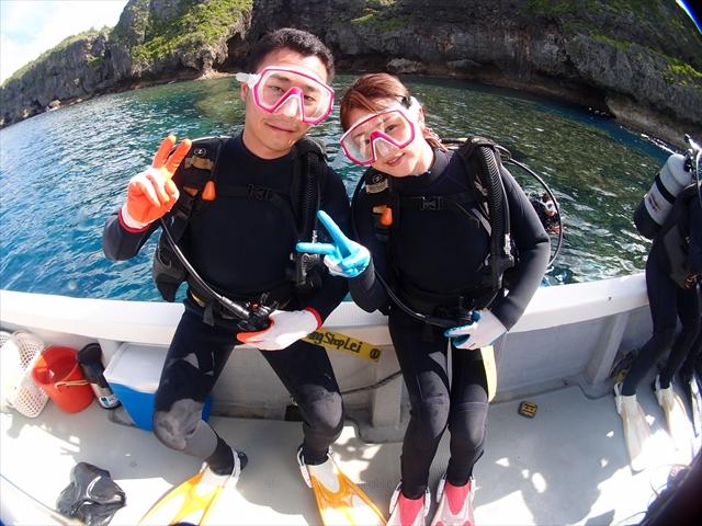 沖縄 思い出わんさか 海のツアー 2018年6月7日のお客様