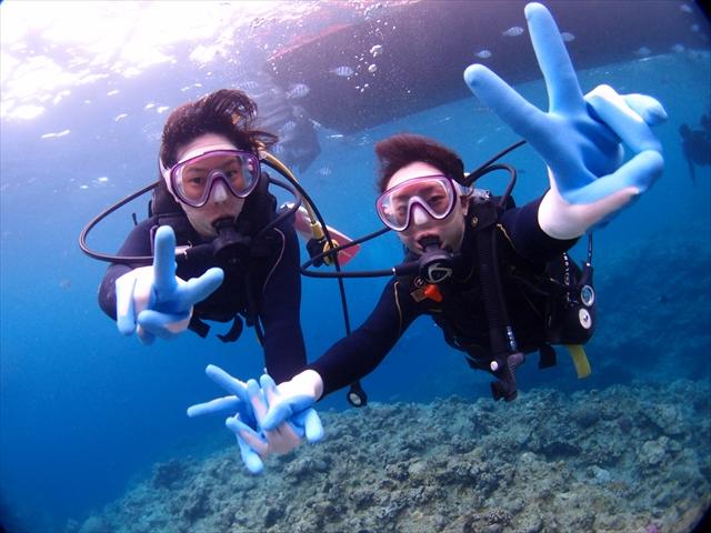 社員旅行 沖縄ダイビング