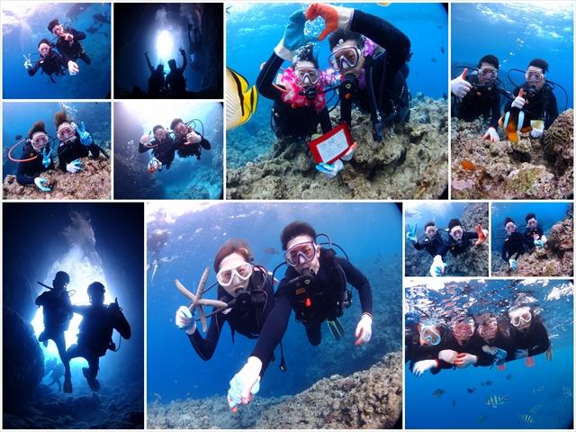 ボート 青の洞窟 ダイビング