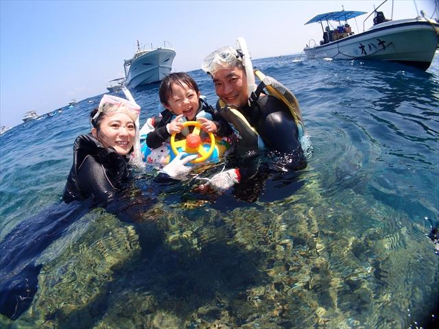 夏!沖縄!!海!!! 2018年8月7日のお客様