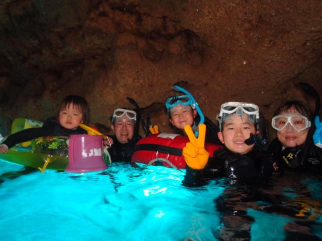 青の洞窟ダイビング&シュノーケルツアー 2020年3月21日のお客様