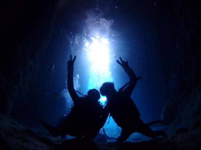 3月最後の青の洞窟ダイビング&シュノーケル 2020年3月31日のお客様