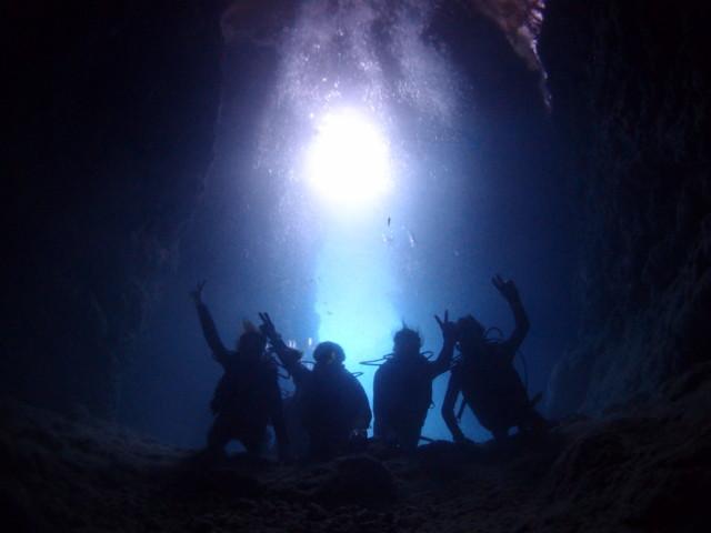 営業再開 沖縄 青の洞窟体験ダイビング 2020年5月27日のお客様
