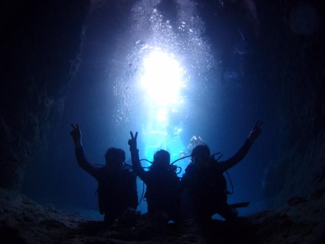 沖縄 青の洞窟ダイビング 青の洞窟シュノーケル 2019年4月3日のお客様